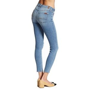 7 For All Mankind Ankle Gwenevere Size 25